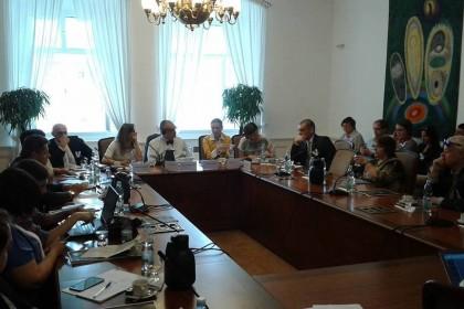 Доповідь про в'язнів Кремля презентували в парламенті Чехії