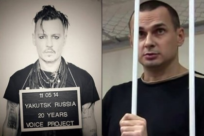 Johnny Depp joins campaign in support of Oleg Sentsov