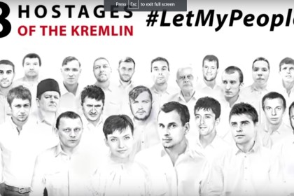 #LetMyPeopleGo: the campaign to free all Kremlin's hostages