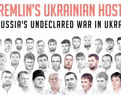 Subscribe to #LetMyPeopleGo newsletter and help Kremlin's Ukrainian hostages