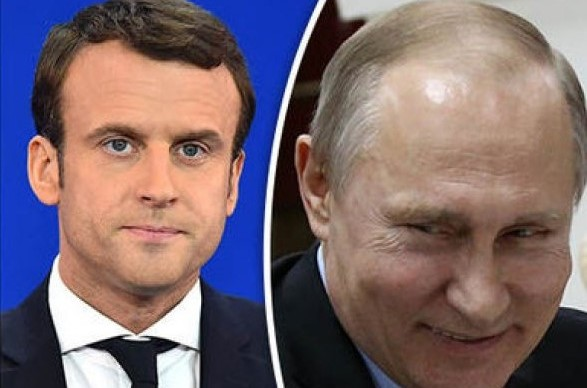 Лист родичів українських бранців Кремля Е. Макрону напередодні візиту Путіна до Франції