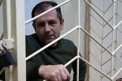 Volodymyr Balukh, Crimean jailed for Ukrainian flag, announces termless hunger strike
