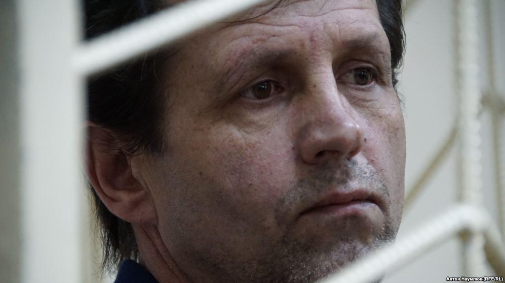 Володимир Балух в суді, 15 травня 2018 року. Фото: Радіо Свобода