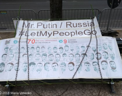 EU calls on Russia to release Sentsov and all Ukrainian political prisoners