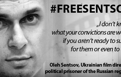 Oleg Sentsov won the Sakharov prize. Here are his most inspiring quotes