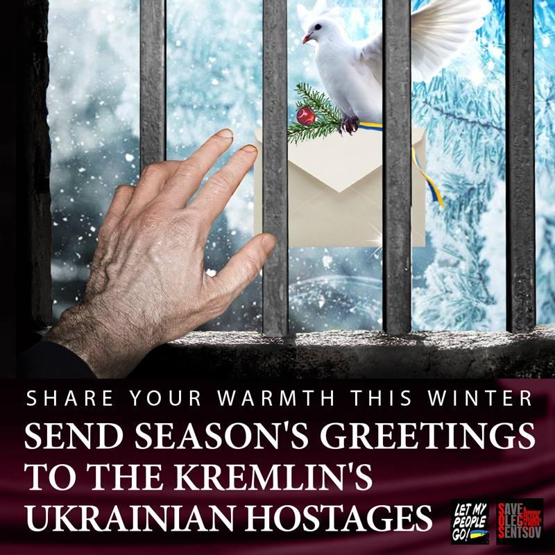 Winter letter-writing marathon to help the Kremlin's Ukrainian hostages