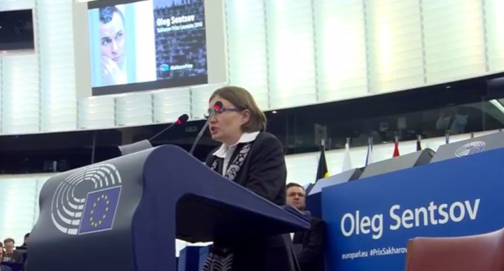"""""""It's doesn't matter when you die, but how and for what."""" Sentsov's address at Sakharov Prize ceremony"""